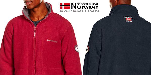 Forro polar Geographical Norway Korleon en varios modelos para hombre barato