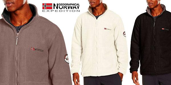 Chollo Forro polar Geographical Norway Korleon en varios modelos para hombre