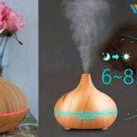 Chollo Vaporizador ultrasónico Victsing050218 de aceites esenciales para aromaterapia de 300 ml