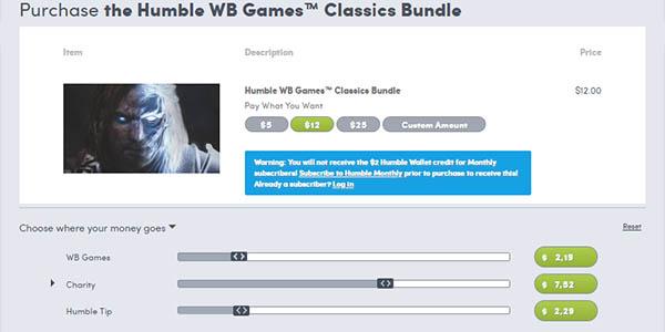 Comprar Humble WB Games Bundle