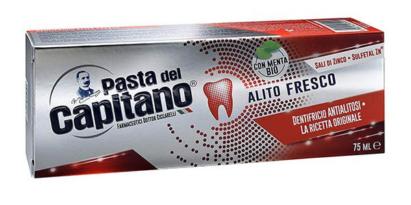 crema de dientes Pasta del Capitano pack gran formato chollo