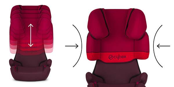 Cybex Silver silla de coche reclinable y ajustable en altura chollo