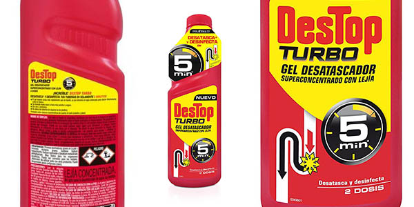 desatascador Destop Turbo pack ahorro