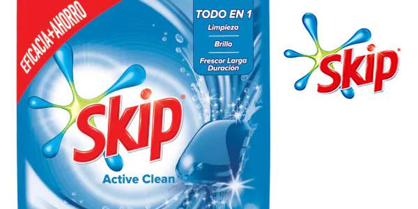 detergente Skip Active Clean para lavadora pack ahorro