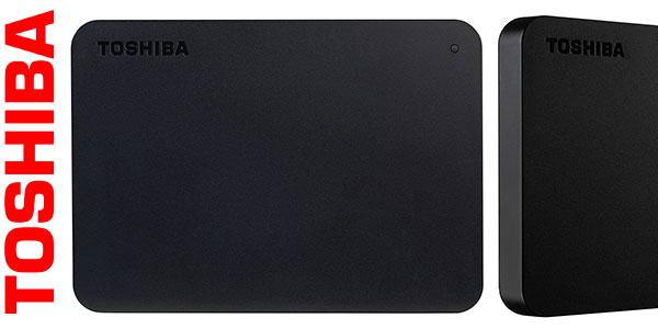 Disco duro portátil Toshiba Canvio Basics USB 3.0 de 2 TB barato