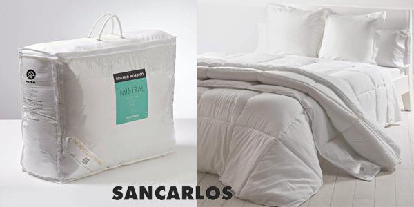 Relleno nórdico Sancarlos Mistral Microgel cama 150x190 cm barato en Amazon