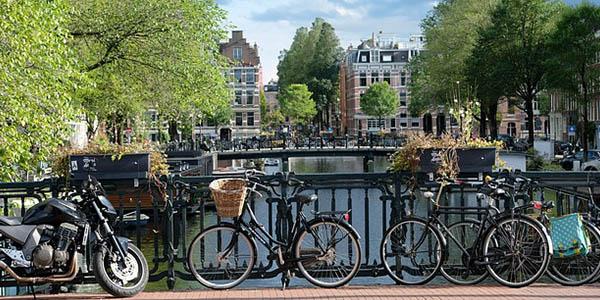 escapada de fin de semana Ámsterdam barata octubre 2018