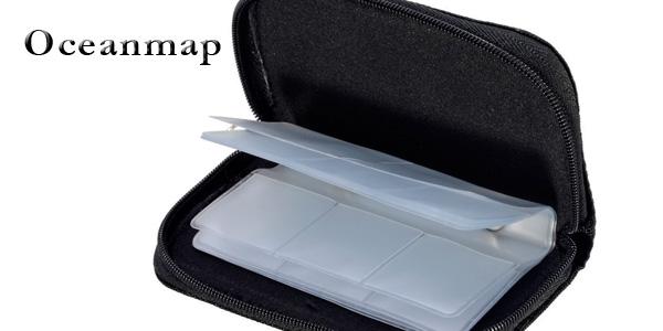 Estuche Oceanmap para guardar 22 tarjetas de memoria SD chollo en Amazon