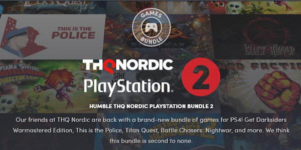 Humble Thq Nordic PS4 Bundle con 11 juegos