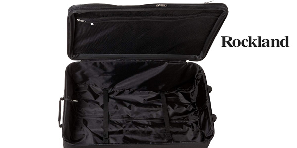 Juego de 4 maletas Rockland 4 PC Luggage Set en negro chollazo en Amazon