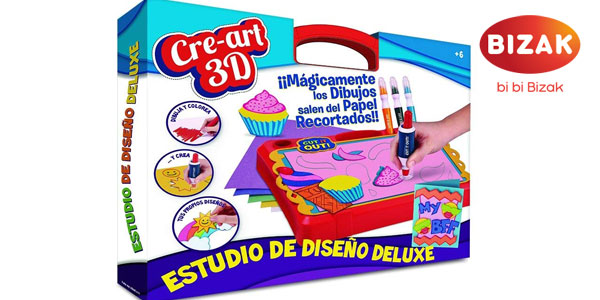 Cre-Art 3D Set Deluxe Bizak barato en Amazon