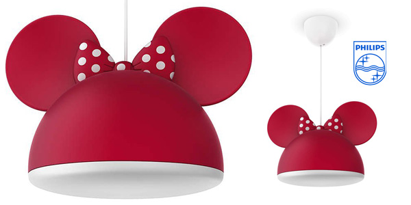 Lámpara colgante Philips Disney Minnie Mouse barata en Amazon