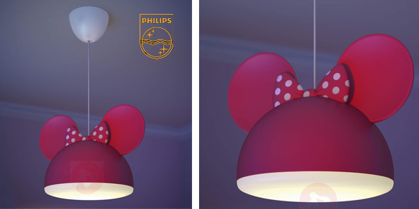 Lámpara colgante Philips Disney Minnie Mouse chollo en Amazon