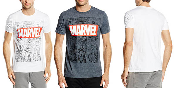 Marvel Mono Comic T-Shirt camiseta barata