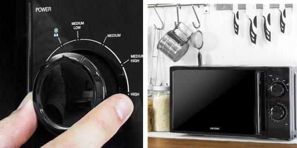 Microondas Cecotec CECO3028 700W con frontal de espejo, 20 L, 6 niveles potencia chollazo en eBay