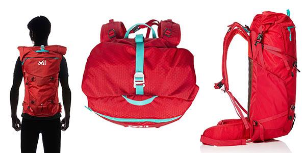 Millet Proligth Sum 28 mochila correas de compresión y compartimentos chollo