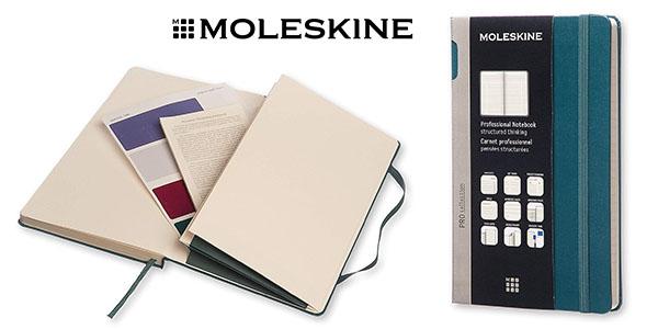 Moleskine Pro cuaderno tapa dura barato