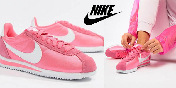 345dc8da8 Chollazo Zapatillas Nike Cortez para mujer por sólo 47