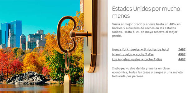 ofertas pre pos veranear Iberia 2019