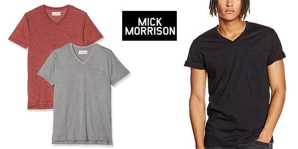Pack x2 camisetas Mick Morrison barato en Amazon
