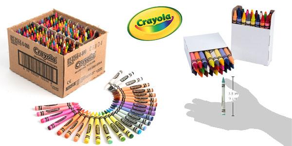 Pack 288 Crayones Crayola de 72 colores chollo en Amazon