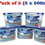 Pack x5 deshumidificadores de interior Ansio de 500ml barato en Amazon