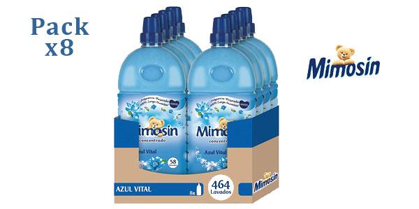 Pack de 8 botellas de Mimosín Azul Vital para 464 lavados barato en Amazon