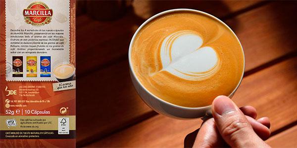 Pack de 40 cápsulas de café Marcilla Intenso para Nespresso barato