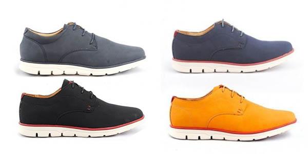 pack zapatos Blucher para hombre baratos