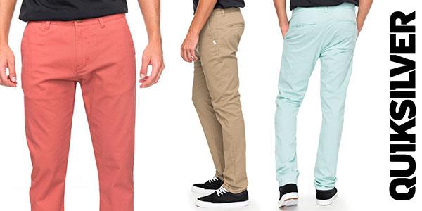Pantalones chinos Quiksilver Krandy en varios colores para hombre baratos