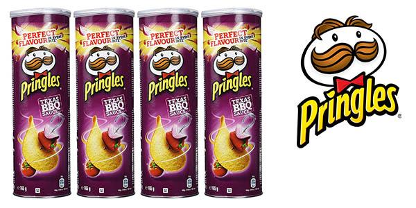 patatas Pringles Texas BBQ Sauce baratas