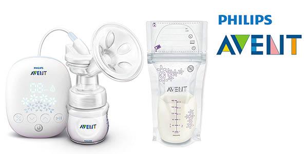 Philips Avent SCF301/02 extractor de leche materna con bolsas de almacenaje barato
