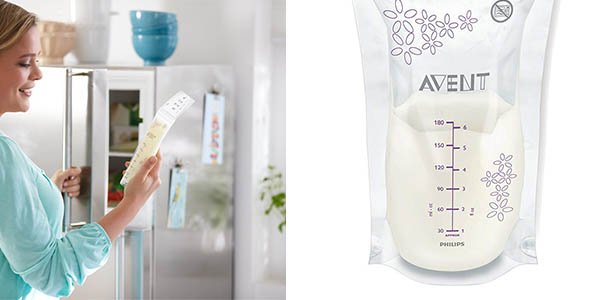Philips Avent SCF301/02 extractor de leche materna con bolsas de almacenaje pack ahorro