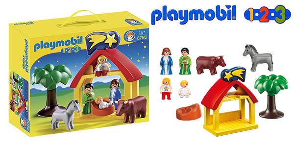 Playmobil 1.2.3 belén infantil para niñ@s pequeños barato