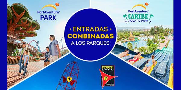 PortAventura entradas combinadas de 2 días a parques con alojamiento ofertas