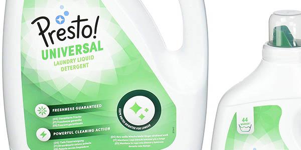 Presto! Amazon detergente líquido pack gran formato oferta