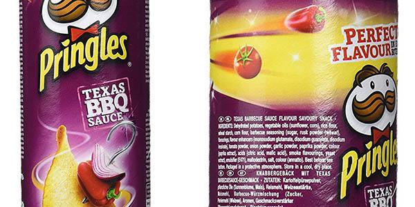 Pringles Texas BBQ Sauce chips sabor picante chollo