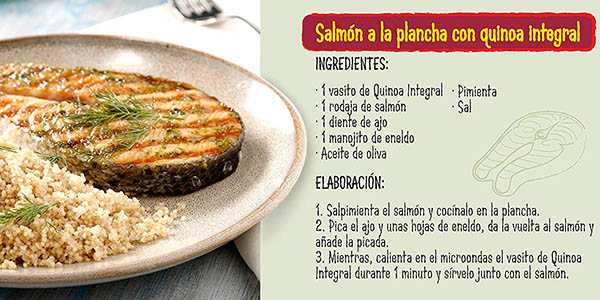 Quinoa Brillante integral vasitos individuales chollo