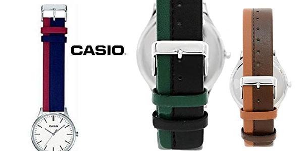 Reloj analógico Casio MTP-E133L en varios colores chollazo en Amazon