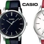 Reloj analógico Casio MTP-E133L en varios colores barato en Amazon