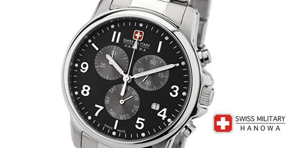 Reloj analógico Swiss Military Hanowa Swiss Soldier Chrono Prime en acero inoxidable para hombre barato en Amazon