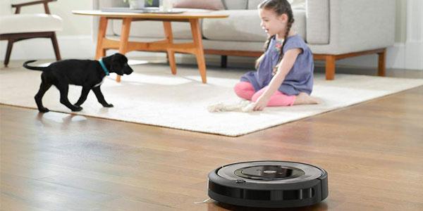 Robot aspirador Roomba e5154 optimizado para pelo de mascotas con WiFi y App chollo en Amazon