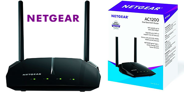 Chollo Router inalámbrico Netgear R6120 Wi-Fi de doble banda
