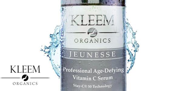 Sérum antiedad Kleem Organics con vitamina C barato en Amazon