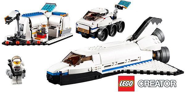 Set Lanzadera espacial 31066 3 en 1 de LEGO Creator barato