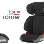 Silla de coche Britax Römer Adventure para grupo 2/3 en color negro barata en Amazon