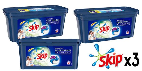 Skip Ultimate triple poder pieles sensibles pack oferta