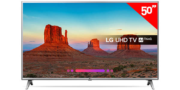 Smart TV LG 50UK6500 UHD 4K HDR de 50''