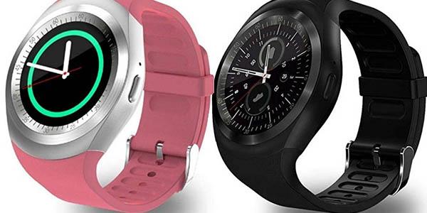smartwatch de diseño unisex para fitness compatible con sistemas Android Cooshional con pantalla táctil oferta