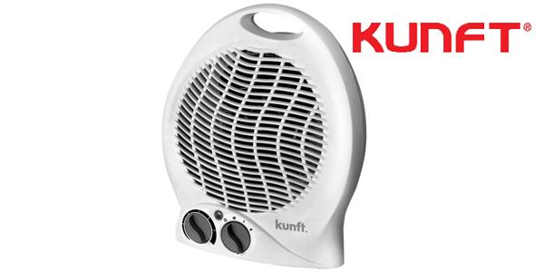 Termoventilador KUNFT KFH-2700 en color blanco barato en eBay